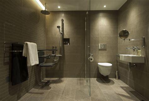 wet floor bathroom designs a contemporary accessible bathroom motionspot