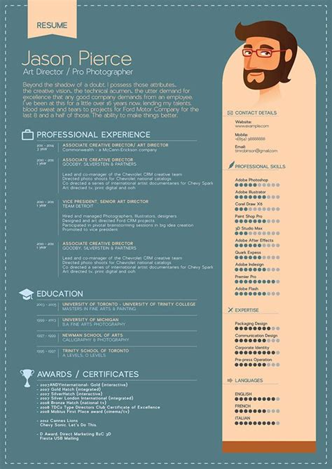 Graphic Design Resume Template by 17 Best Ideas About Graphic Designer Resume On