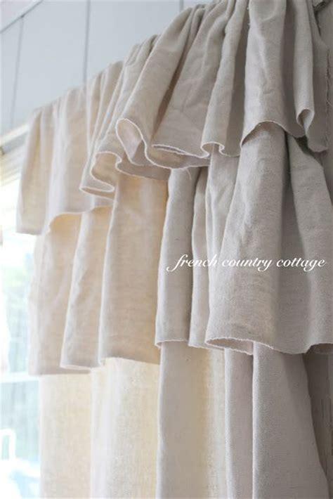 ruffled curtains diy diy double ruffle drop cloth curtains store pinterest
