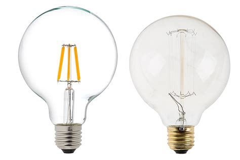 g30 led vanity bulb 60 watt equivalent led filament bulb