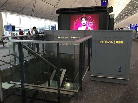 The Cabin Lounge Hong Kong Airport by The Class Project Review Cathay Pacific The Cabin