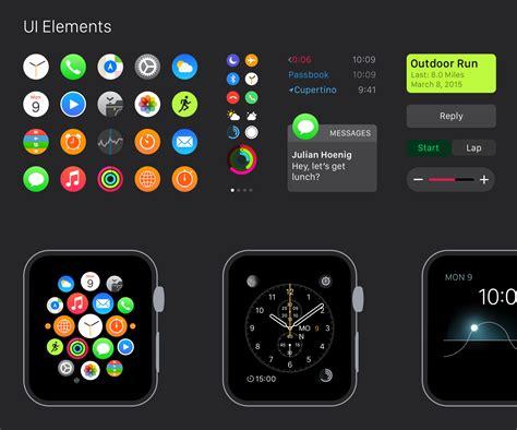 design apple watch app изучение цветов типографики и принципов дизайна под apple
