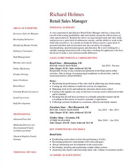 bring your sales manager resume apart from the usual resume