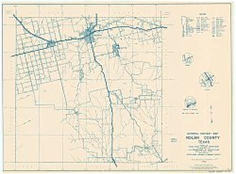 nolan county texas map nolan county texas historical map 1936