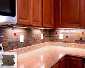 slate backsplash tile kitchen traditional with