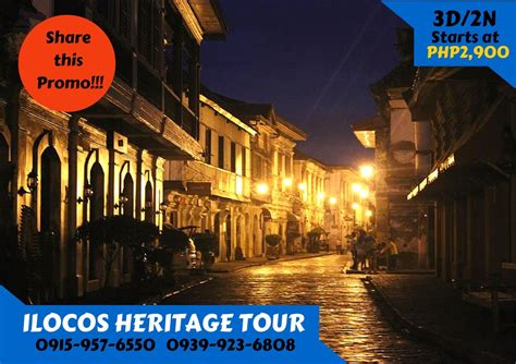 Cheapest Rates On Vigan Packages For 2017 by Ilocos Tour Package Jab Travel Ventours