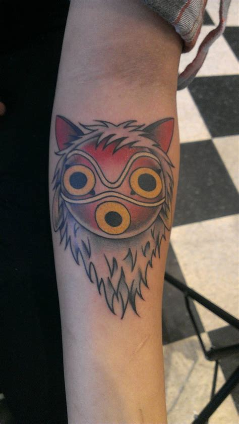 princess tattoo princess mononoke want geeky stuff