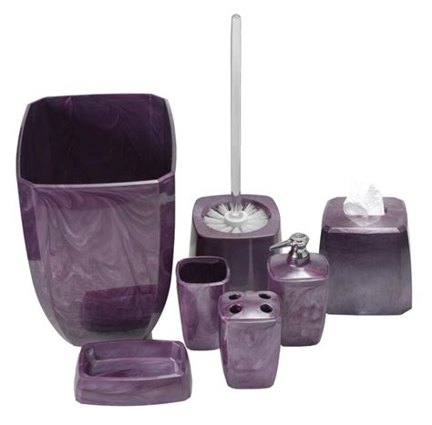 Bathroom Purple Accessories Purple Swirl Bathroom Accessories Bathroom Accessories