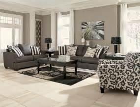 Levon Charcoal Sofa Ashley Signature Design Levon Charcoal Accent Chair In