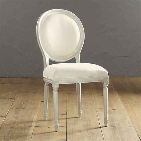 oval  louis xvi side chair contemporary dining chairs  ballard designs