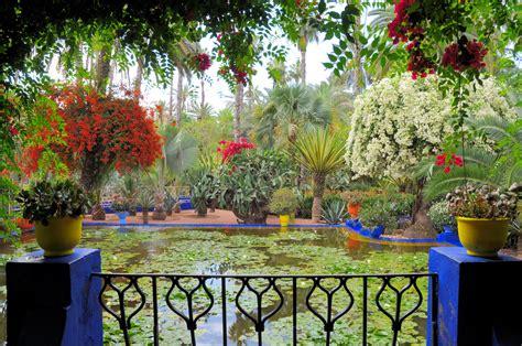 Jardin Botanical Gardens Jardin Majorelle Wallpaper