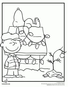 coloring pages for charlie brown christmas a charlie brown christmas coloring activity grandma ideas