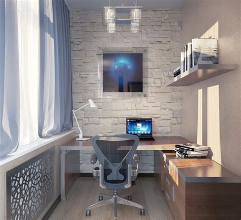 small house office design office design for home office ideas in small spaces swivelchair natural stone wall