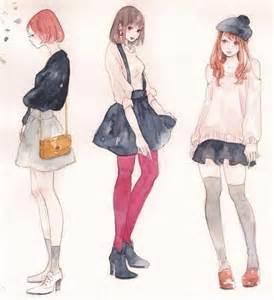 Pink tights thigh socks and manga on pinterest