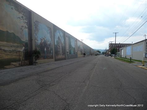 Portsmouth Ohio Flood Wall Murals portsmouth floodwall murals north coast muse