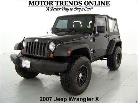 Bluetooth Jeep Sell Used 4x4 Soft Top Black Custom Wheels Pioneer
