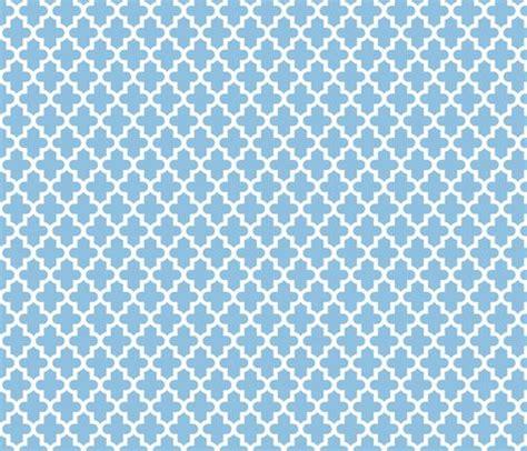 blue moroccan pattern sky blue moroccan fabric sweetzoeshop spoonflower