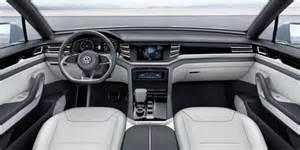Touareg Interior 2017 Volkswagen Tiguan Redesigned Suv Gets Third Row