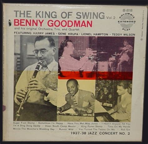 king of swing benny goodman 45s