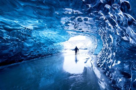 cave iceland a beautiful glacier cave in iceland knowledgeable ideas ツ