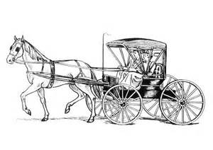 coloring page horse with carriage img 18982 coloring