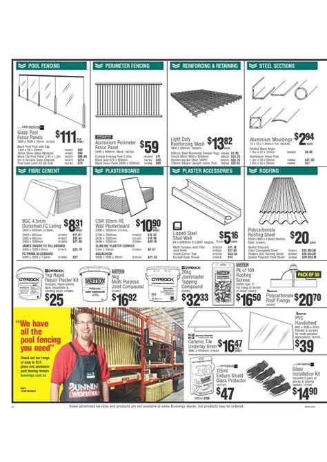 bunnings home improvement and garden catalogue page 22