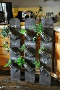 Diy Vertical Herb Garden 10 Easy Diy Kitchen Herb Gardens Room Bath