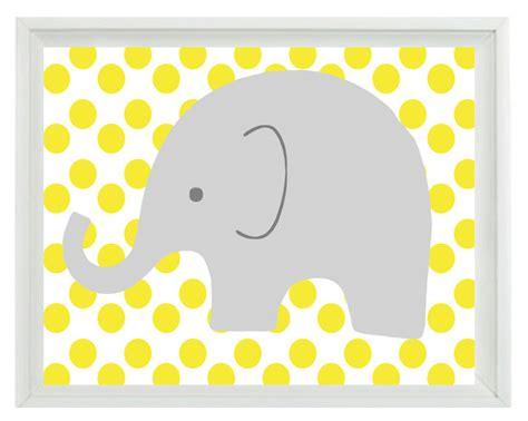 printable elephant nursery wall art elephant nursery wall art print yellow gray by rizzleandrugee