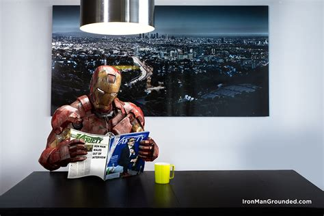 the iron man read iron man grounded humanizes the famous hero