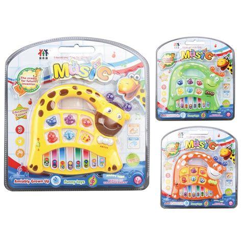 Mainan Anak Giraffe Kick Toys lovely giraffe puzzle electronic piano toys kid orange