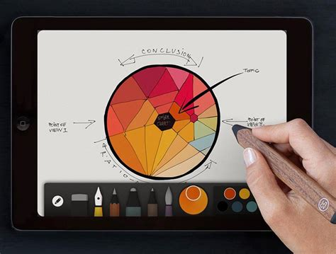 free app for drawing digital drawing made easy with or iphone and paper by