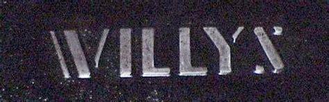 willys overland logo willys logos