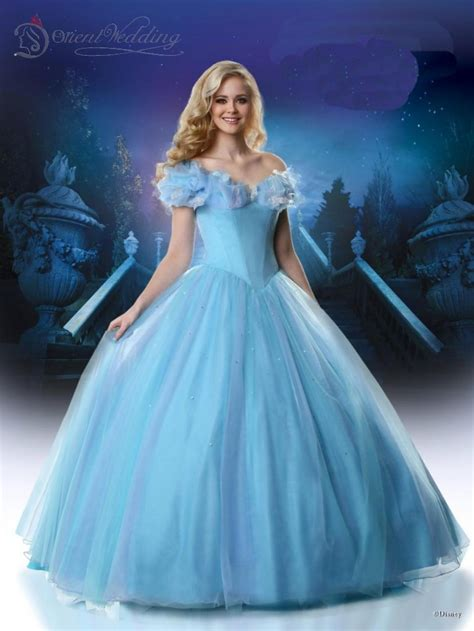 film cinderella dress 2015 ice blue cinderella movie dresses butter fly pageant