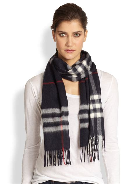 kemeja jumbo burberry black burberry check scarf in black lyst