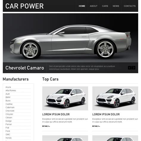 car dealer car seller car rental and car hire html