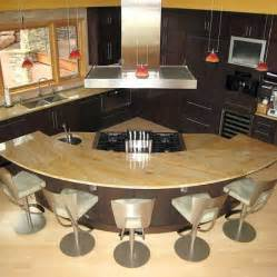 Round Kitchen Island Designs Best 25 Curved Kitchen Island Ideas On Pinterest