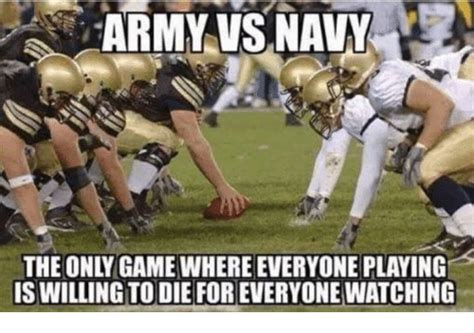 Vs Only army vsnavy the only where everyone is willing to die for everyone army