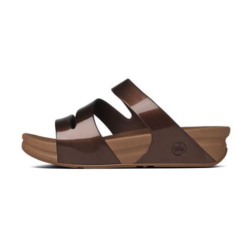 wobble board sandals fitflop fitflop design superjelly twist slip on sandal