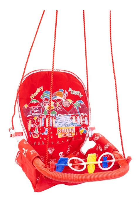 red baby swing buy jiya baby swing jeans red online in india kheliya toys