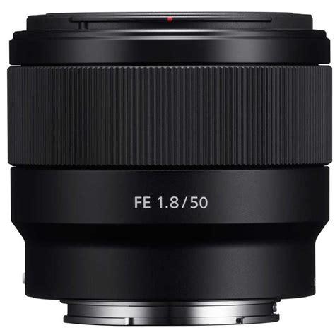 Sony Lens Sel Fe 50mm F1 8 sony fe 50mm f1 8 prime lens e mount fe series