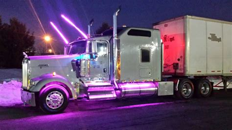 led lights for semi trucks rgb color changing interior signs using 12vdc ecolocity