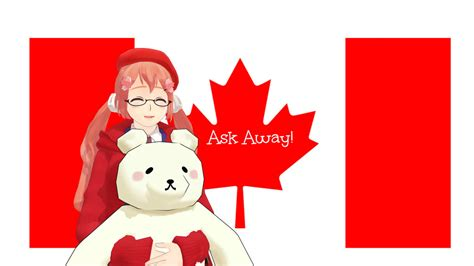 Ask Away by Ask Away By Ask Mmd Canada On Deviantart