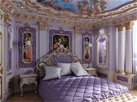 3d visualization classic interior design bedrooms in