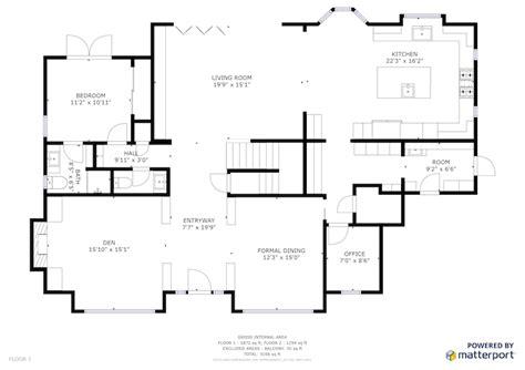 exles of floor plans schematic floor plans sle floor plan square footage matterport help center