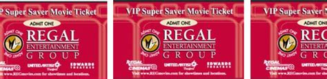 Regal Movie Tickets Gift Cards - regal cinema edward cinema movie tickets 10pk discount saver aiyamicro