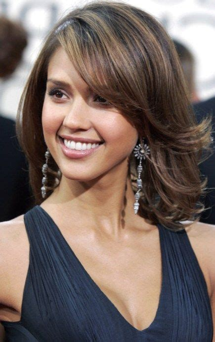 Pretty Medium Hairstyles by 1000 Images About Hairstyles On Shoulder Bob