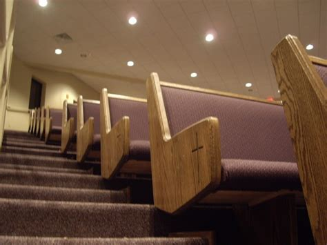 church benches used family placards for church pews born again pews