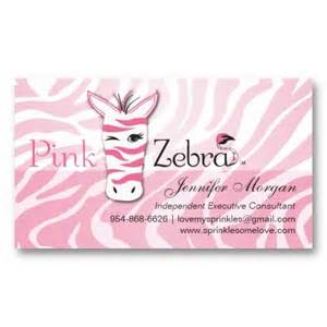 pink zebra business cards pink zebra business cards