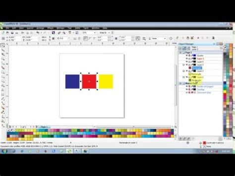 corel draw x6 layers corel to photoshop open layer export youtube