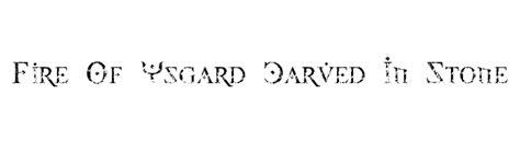 fire of ysgard font dafont com papel picado font download
